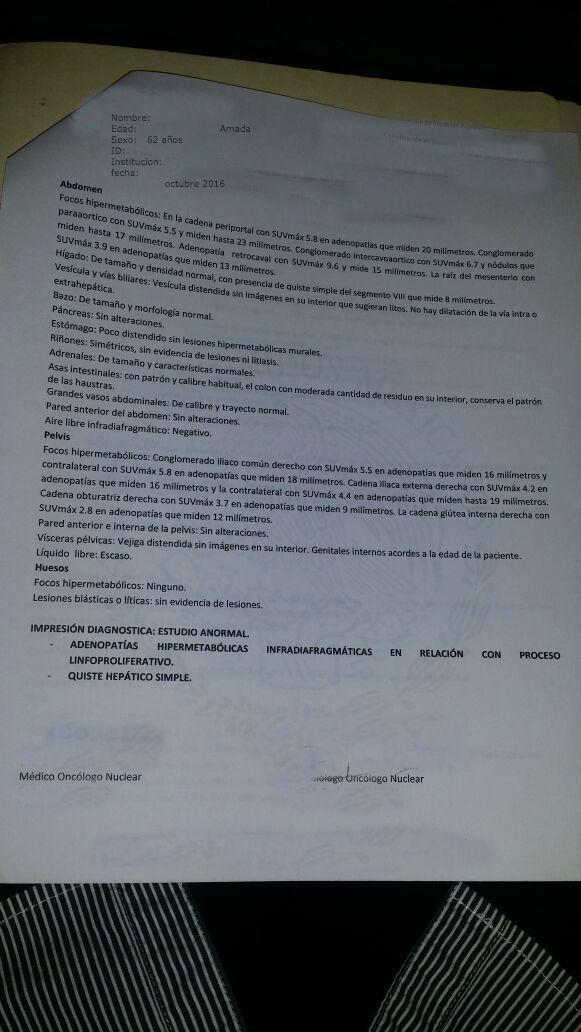 LifEscozul® - Amada 2 - Linfómas