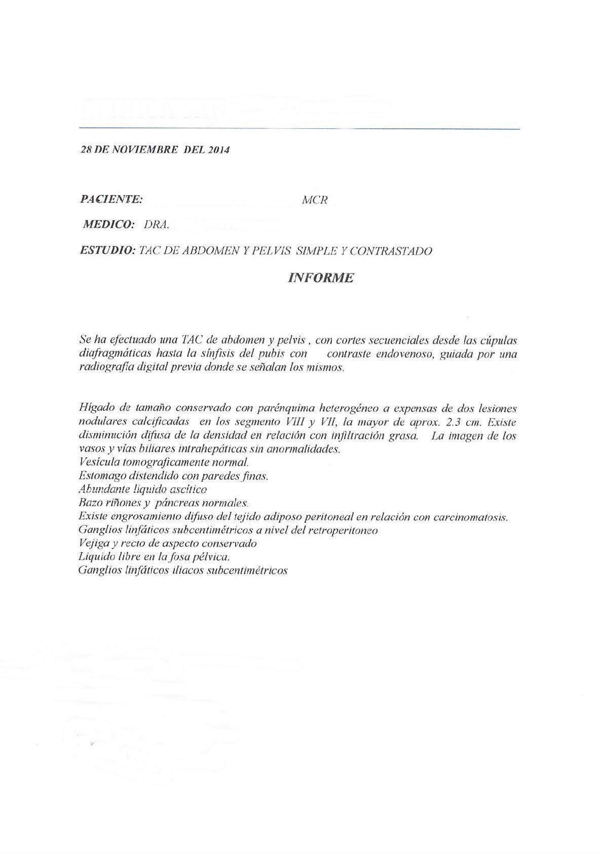 LifEscozul® - M.C.R. 5 - Cáncer de Ovarios