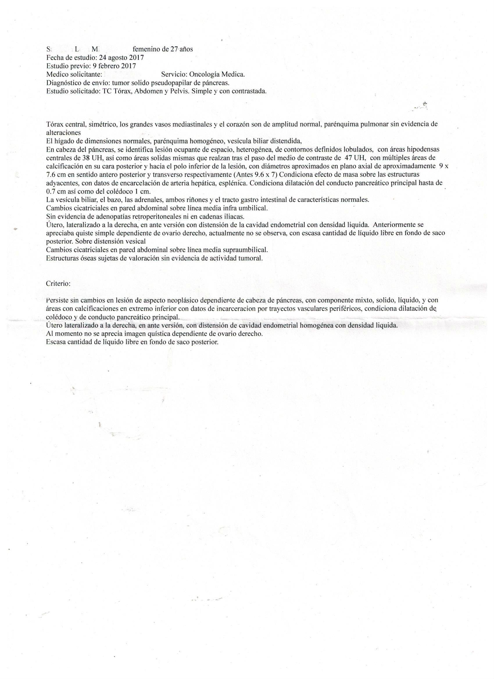 LifEscozul® - MSL 1 - Cáncer de Páncreas