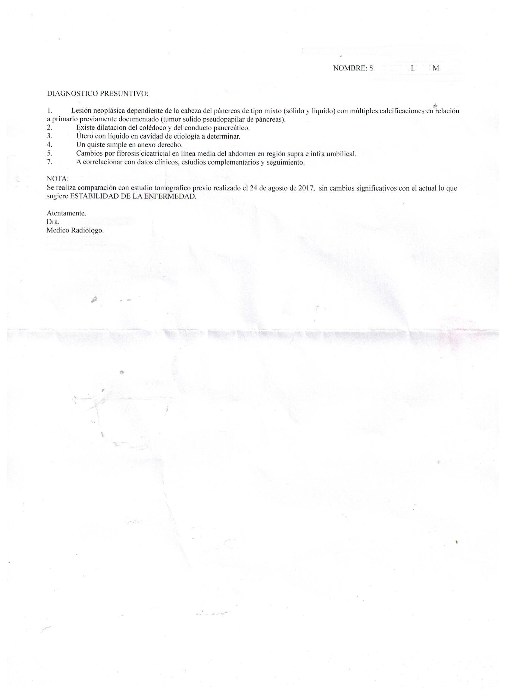 LifEscozul® - MSL 4 - Cáncer de Páncreas