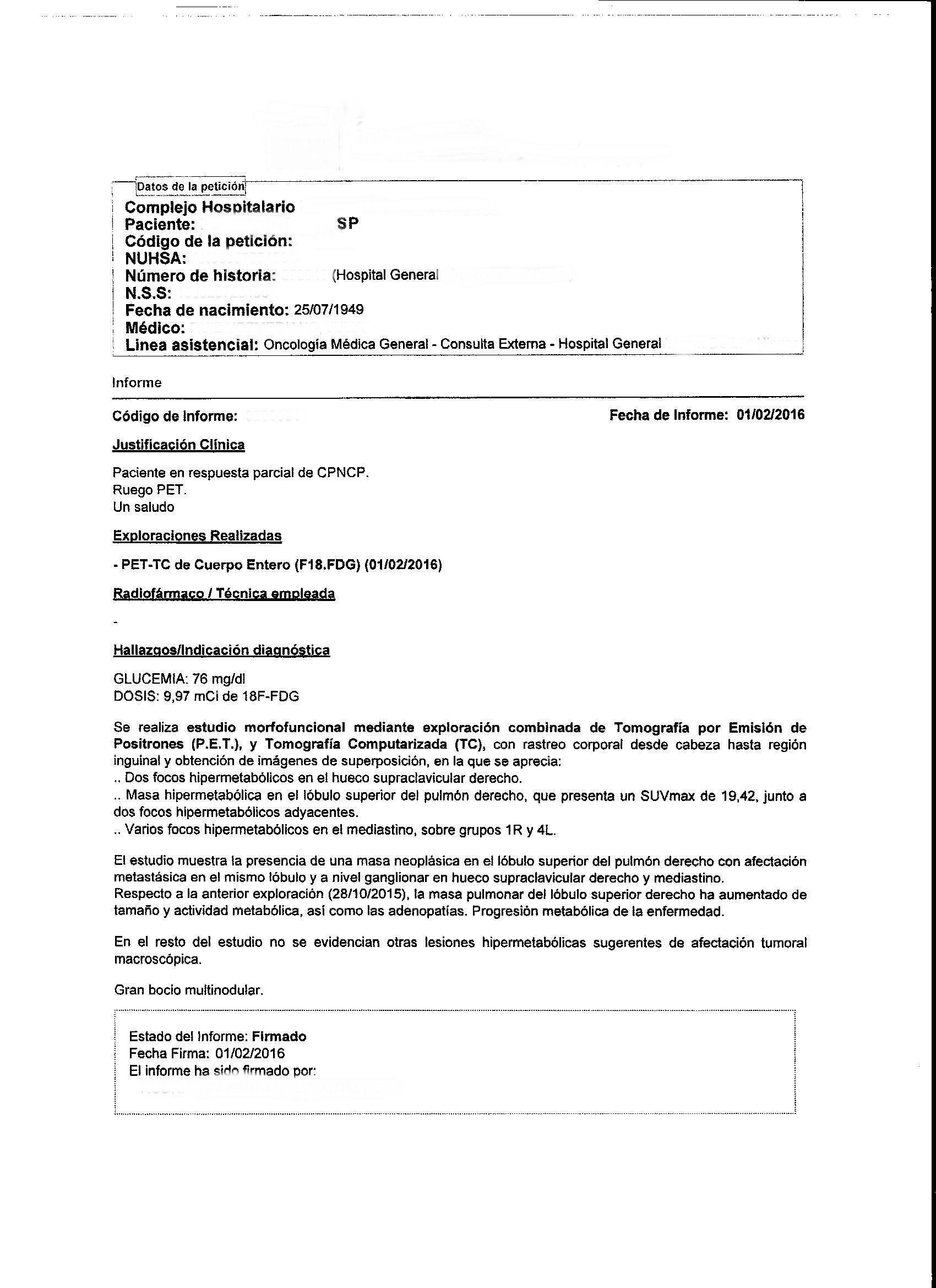 LifEscozul® - S.P. 5 - Cáncer de Pulmon