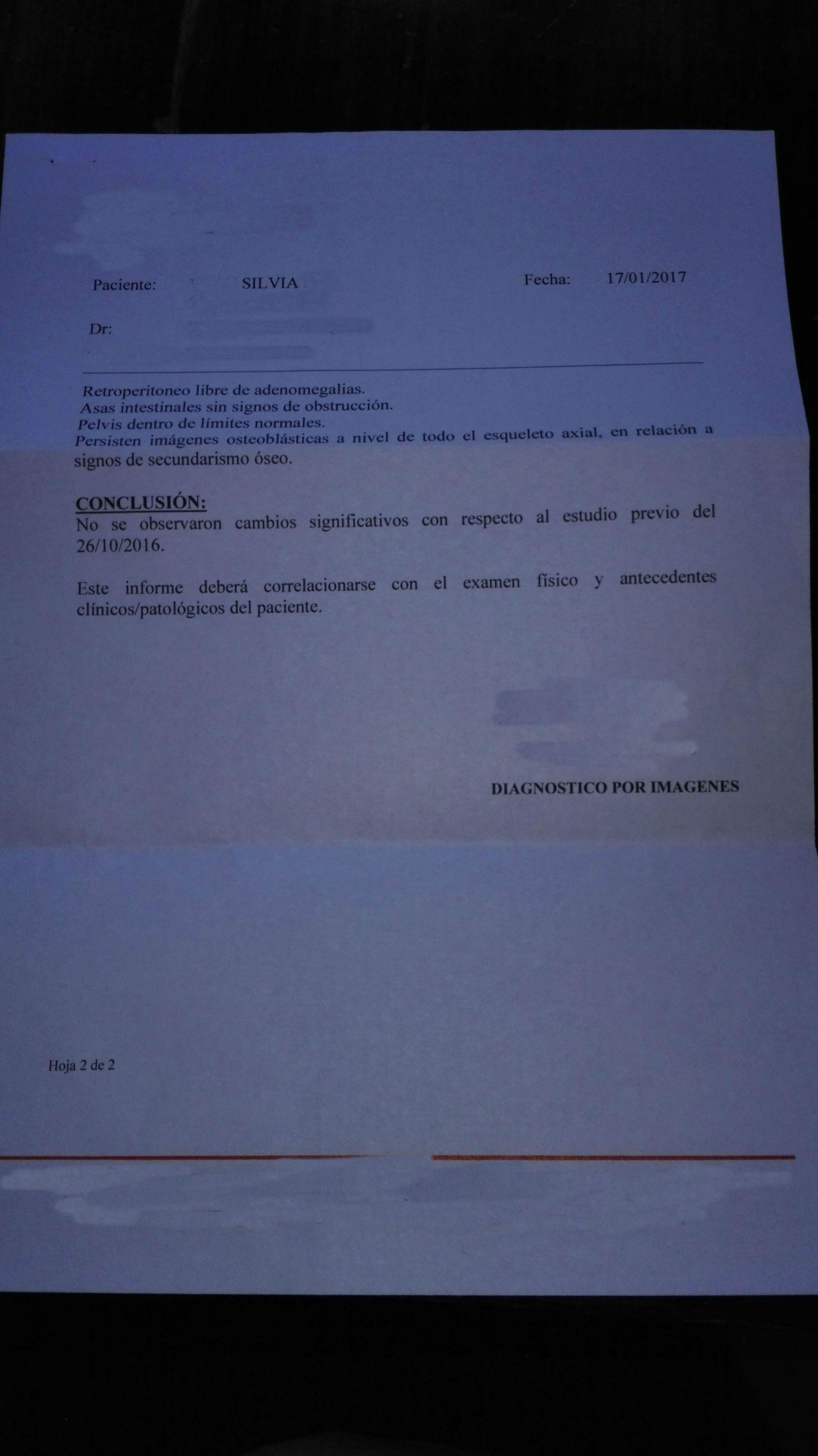 LifEscozul® - Silvia 11 - Cáncer de Mámas