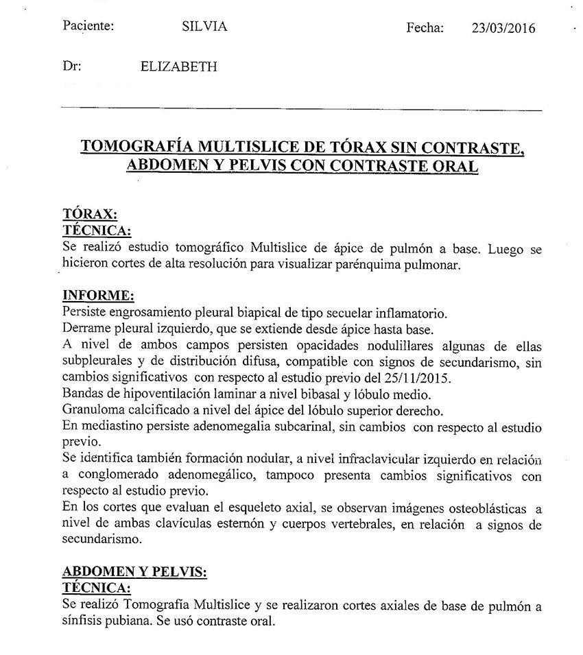 LifEscozul® - Silvia 6 - Cáncer de Mámas
