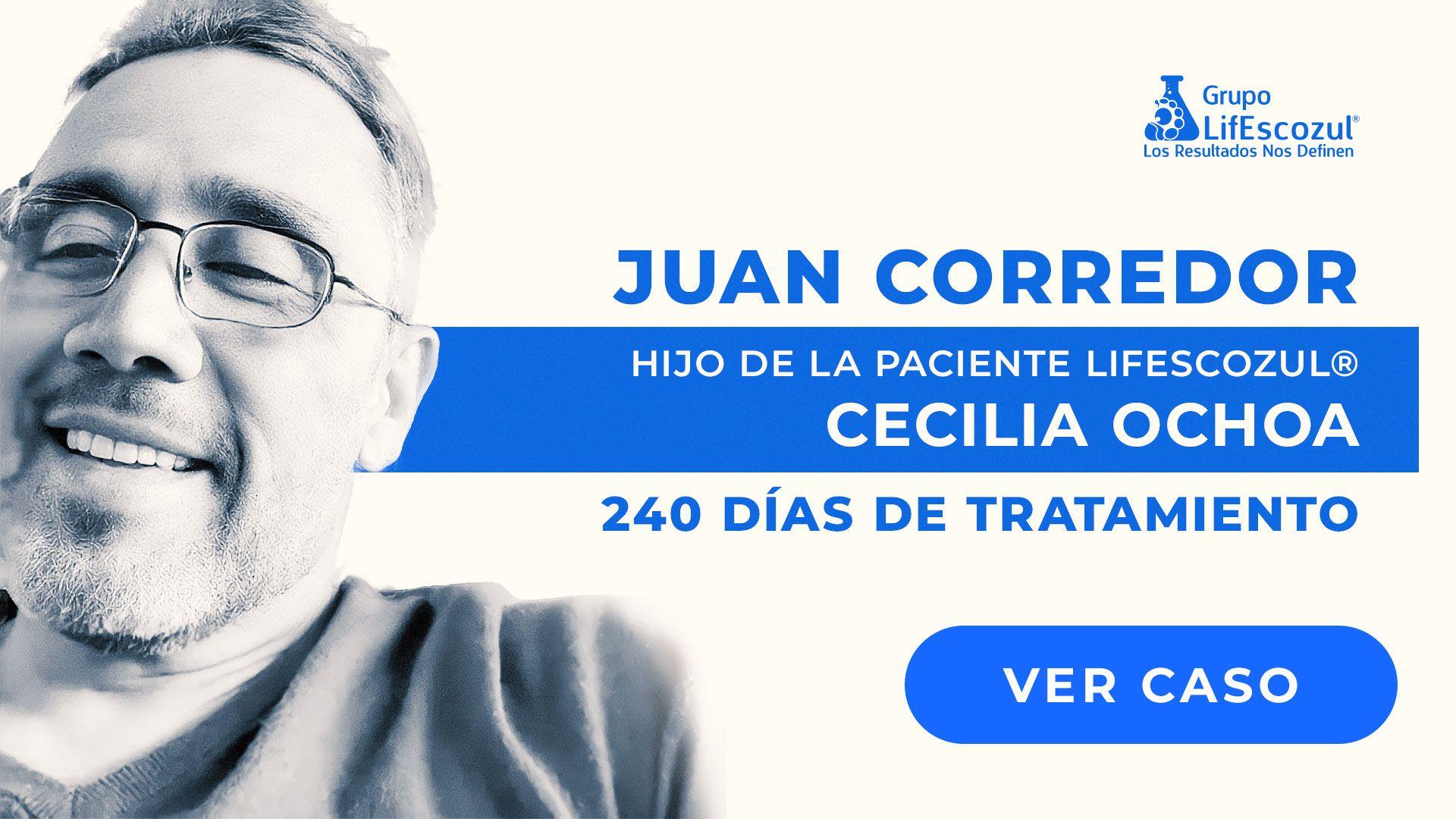 Cecilia Ochoa - Cáncer de Mama - Resultados con LifEscozul®