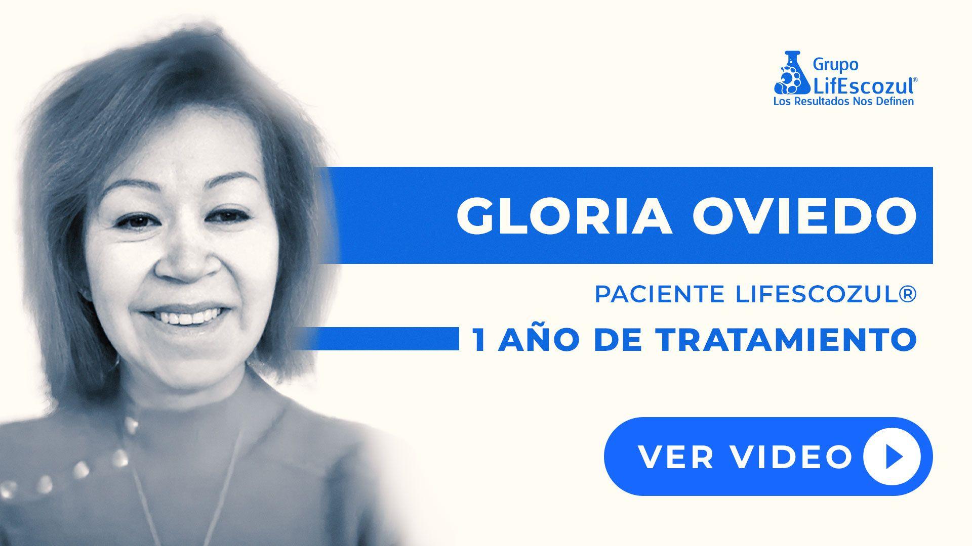 Gloria Oviedo - Leucemia - Resultados con LifEscozul®