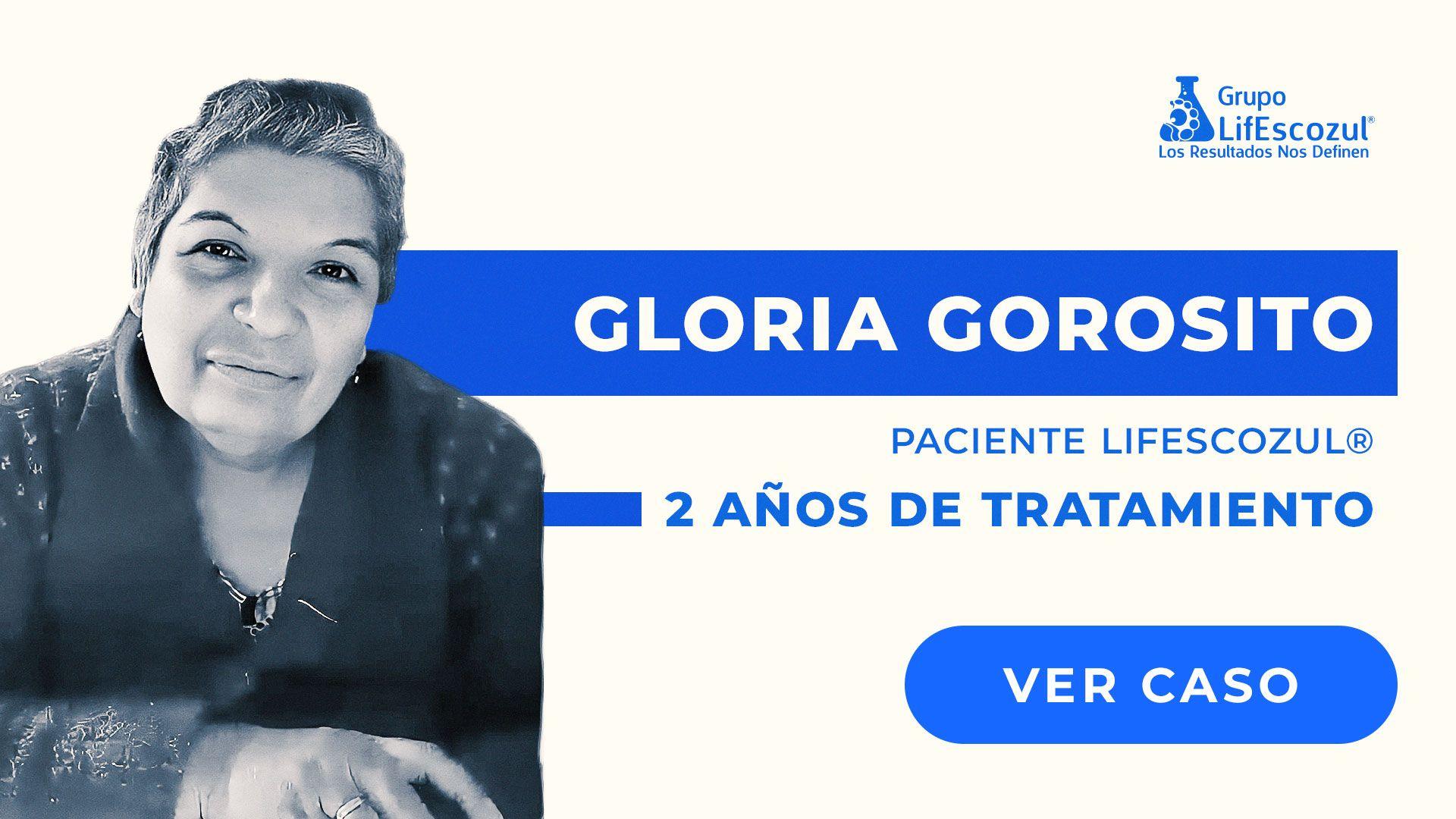 Gloria Gorosito - Cáncer de Mama - Resultados con LifEscozul®