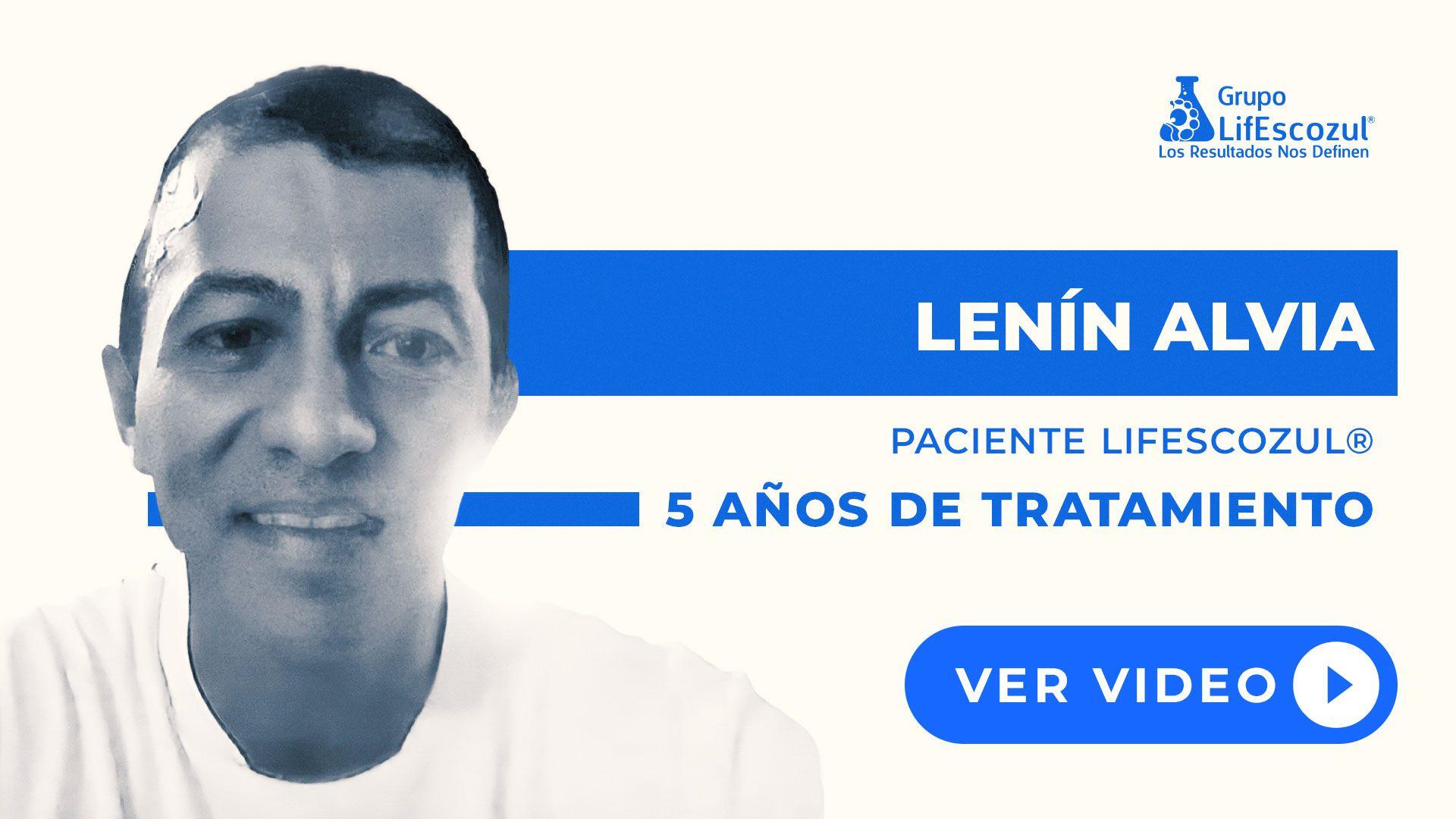 Lenin Alvia Cusme - Cáncer Cerebral - Resultados con LifEscozul®