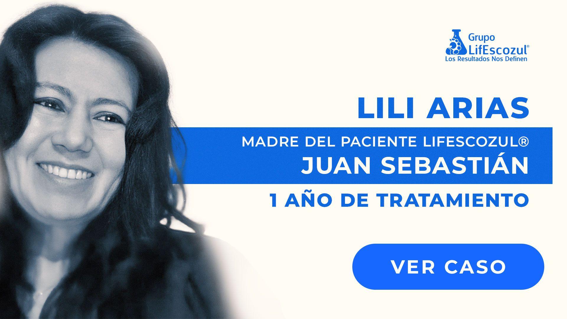 Juan Sebastián Hernandez - Linfomas - Resultados con LifEscozul®