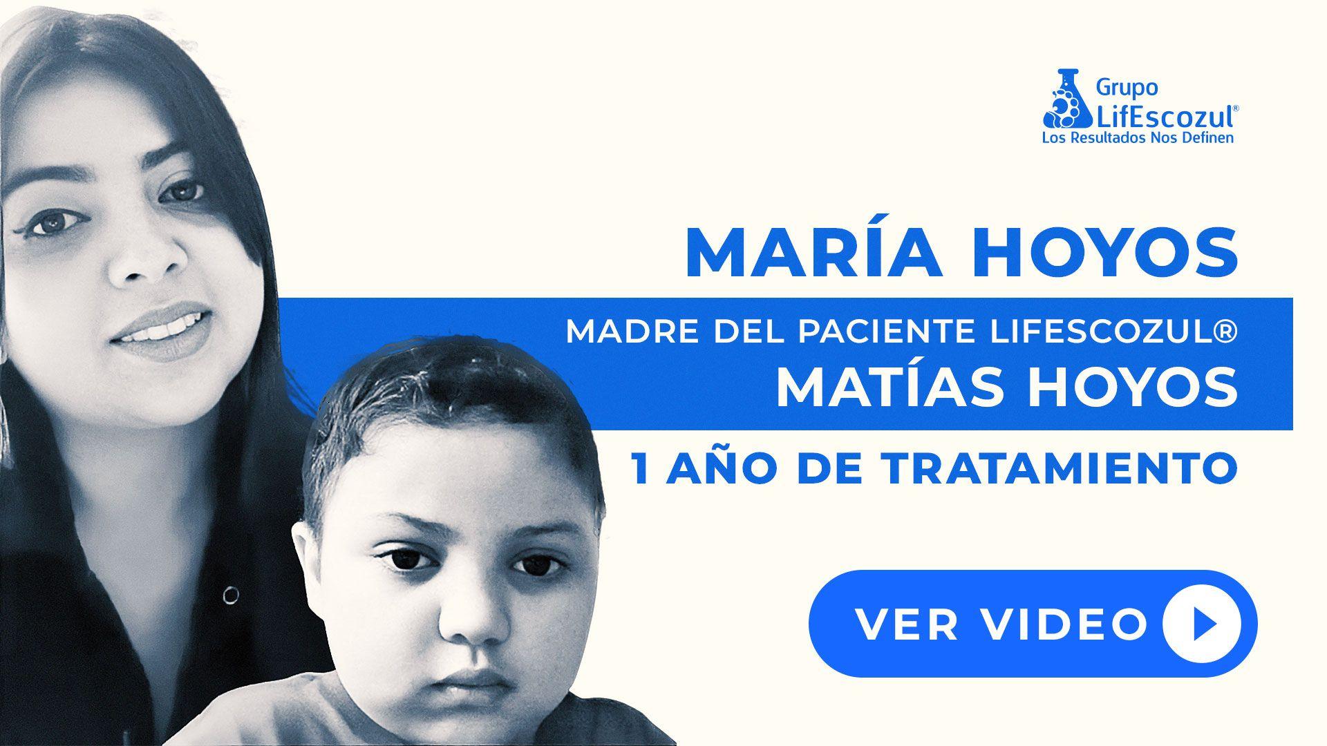 Matías Hoyos - Cáncer Cerebral - Resultados con LifEscozul®