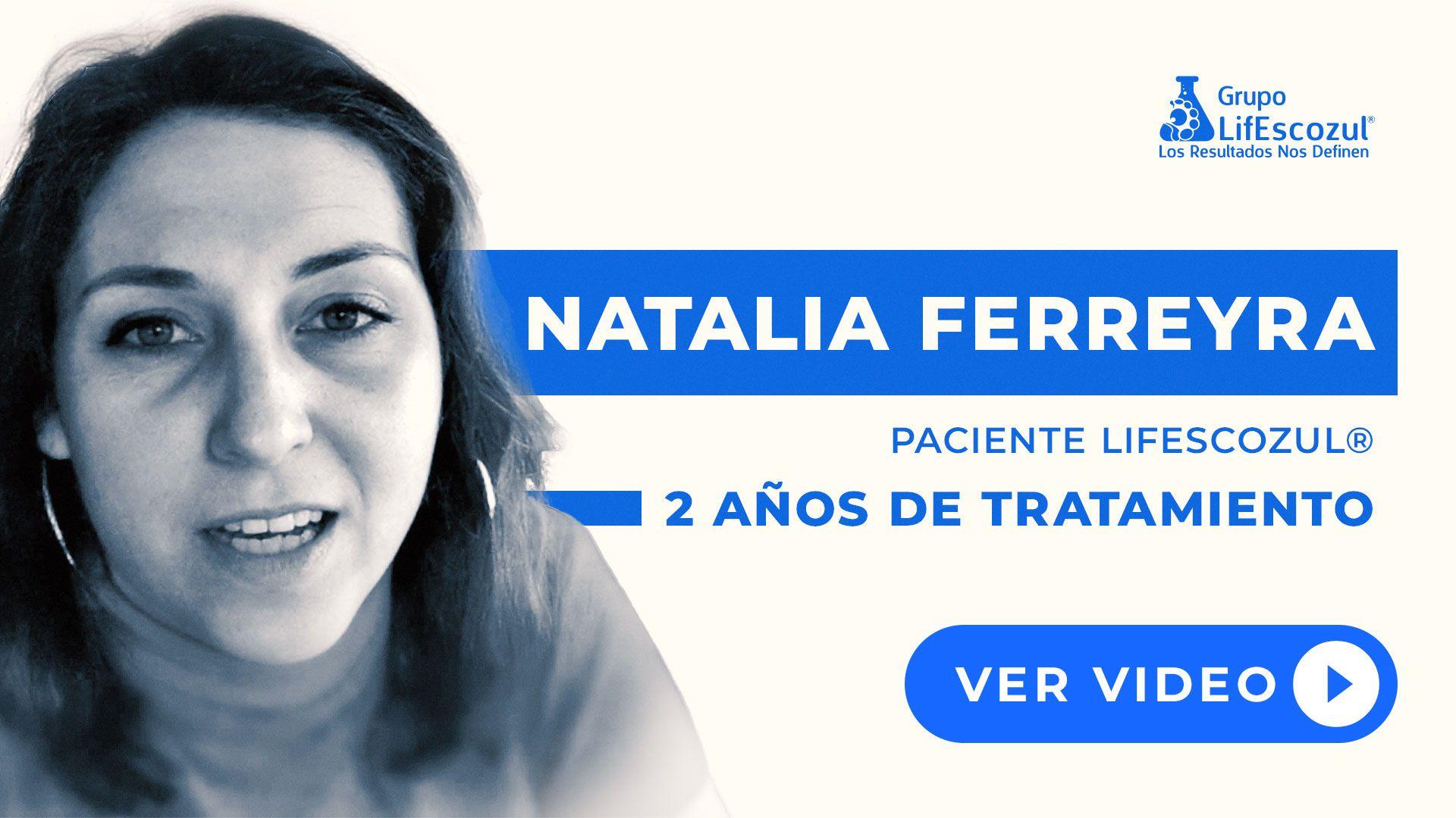 Natalia Ferreyra - Cáncer de Mama - Resultados con LifEscozul®