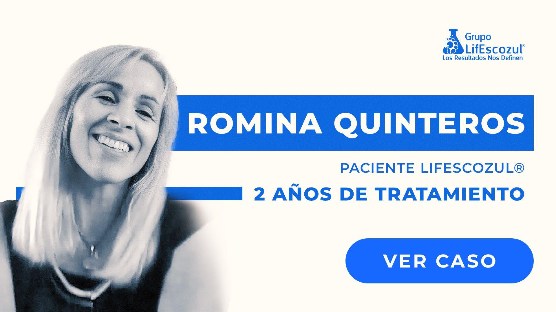 Romina Soledad Quinteros. - Cáncer de Mama - Resultados con LifEscozul®