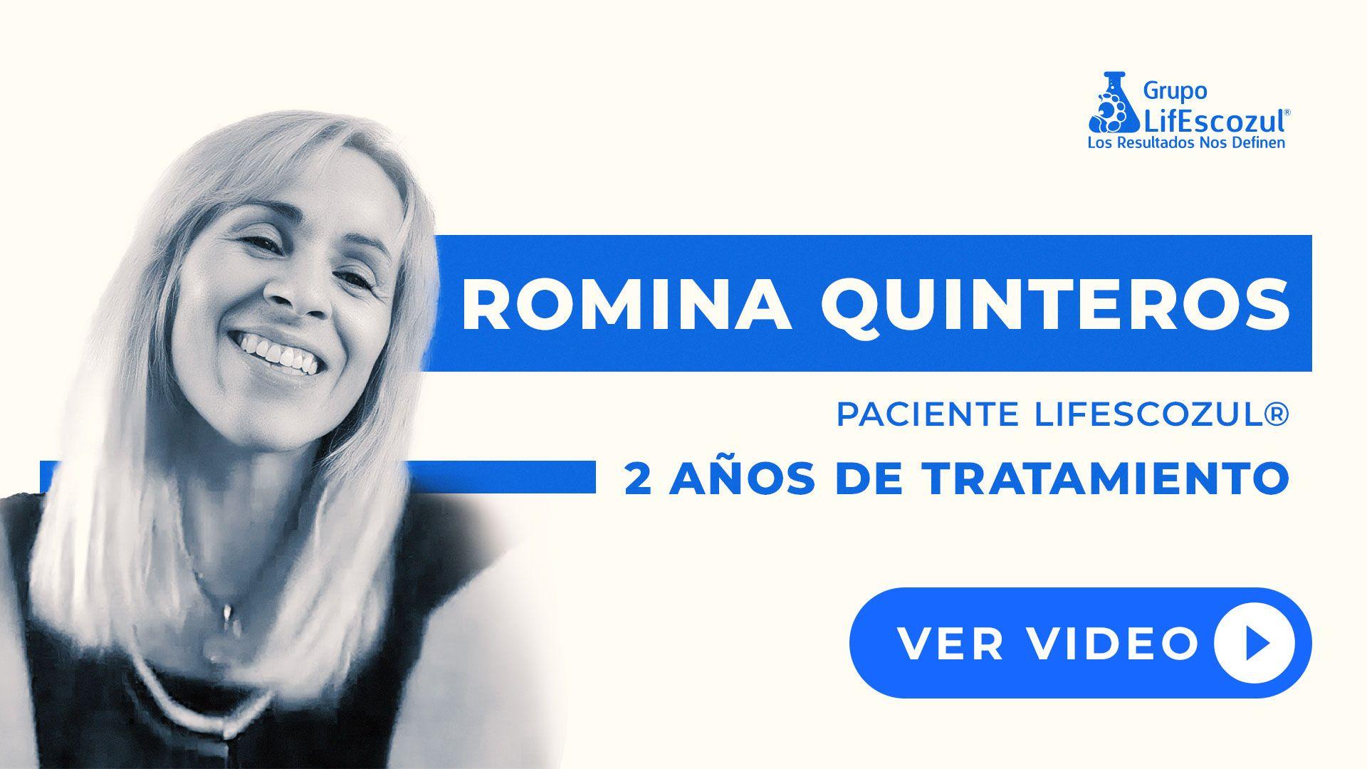 Romina Soledad Quinteros - Cáncer de Mama - Resultados con LifEscozul®