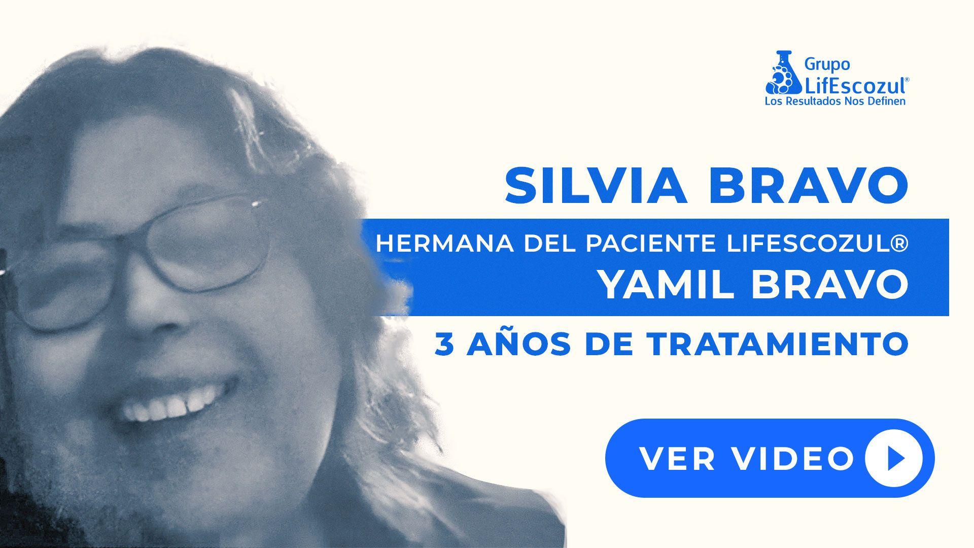 Yamil Bravo - Cáncer de Timo - Resultados con LifEscozul®