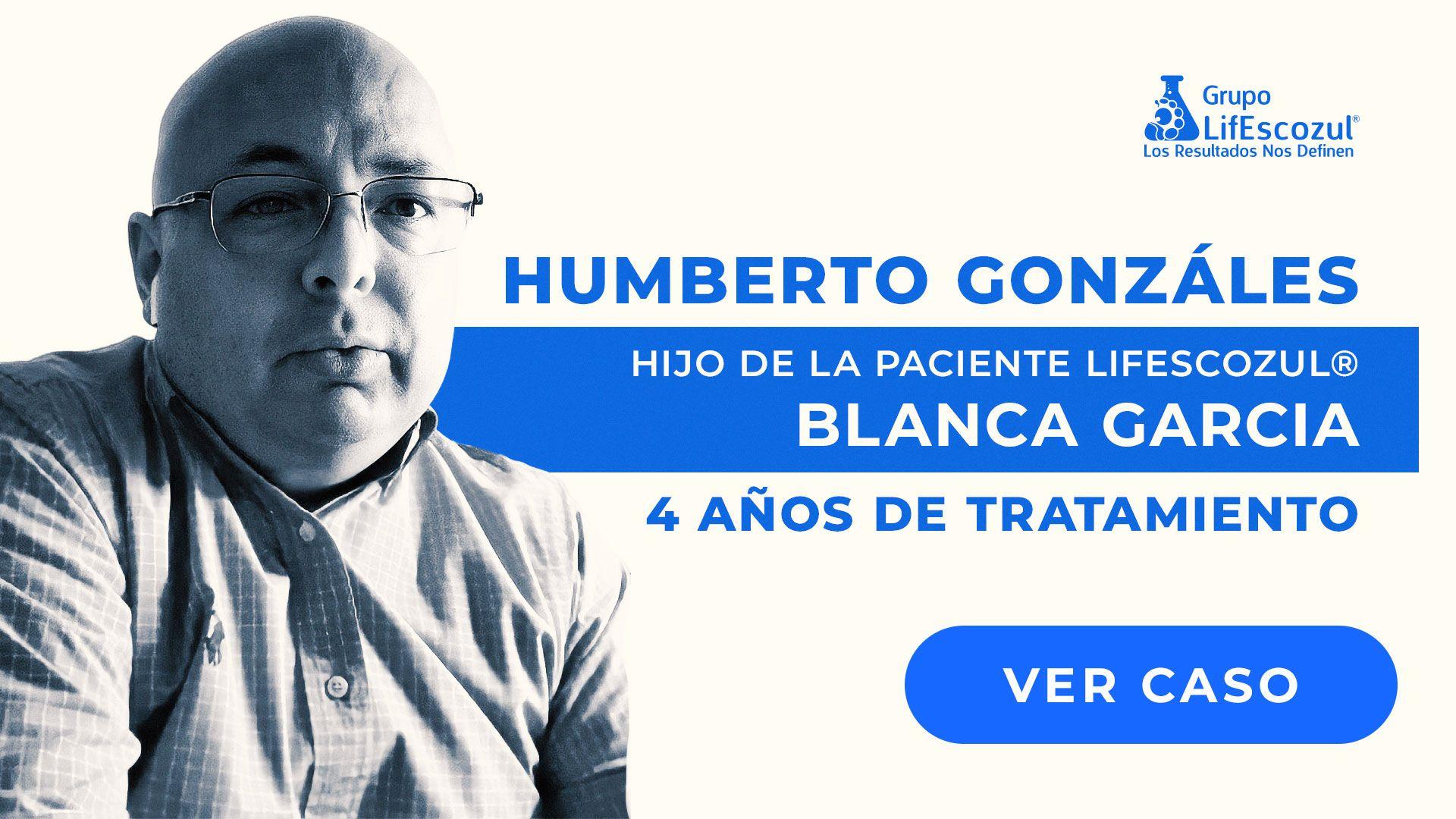 Blanca Esthela García Yáñez - Cáncer de Pulmón - Resultados con LifEscozul®