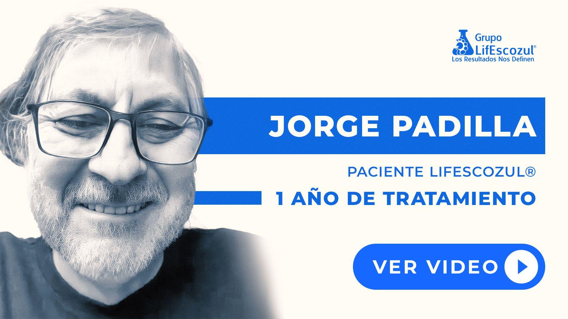 Jorge Padilla - Cáncer de Páncreas - Resultados con LifEscozul®
