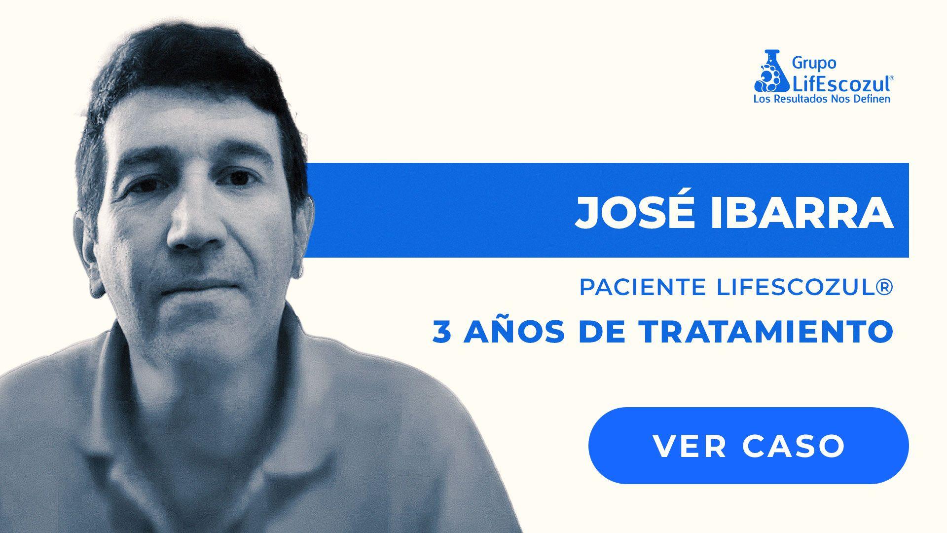 José Daniel Ibarra - Cáncer de Colon - Resultados con LifEscozul®