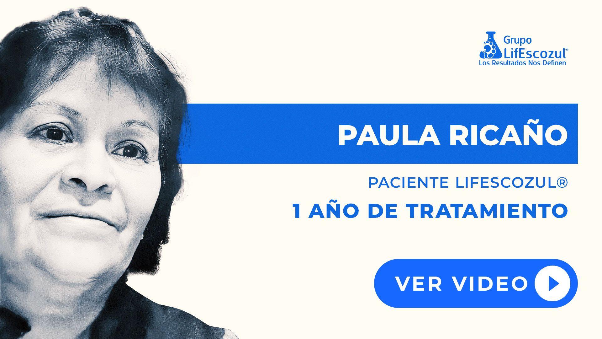 Paula Miguel Ricaño - Cáncer de Mama - Resultados con LifEscozul®