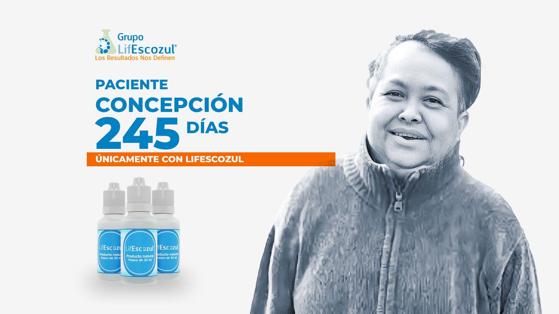 Concepción Uribe - Cáncer Gástrico Intestinal - LifEscozul®